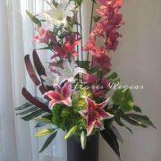 Diseño de orquídeas y orientales